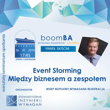 boomba #7 – Event Storming – Między biznesem a zespołem