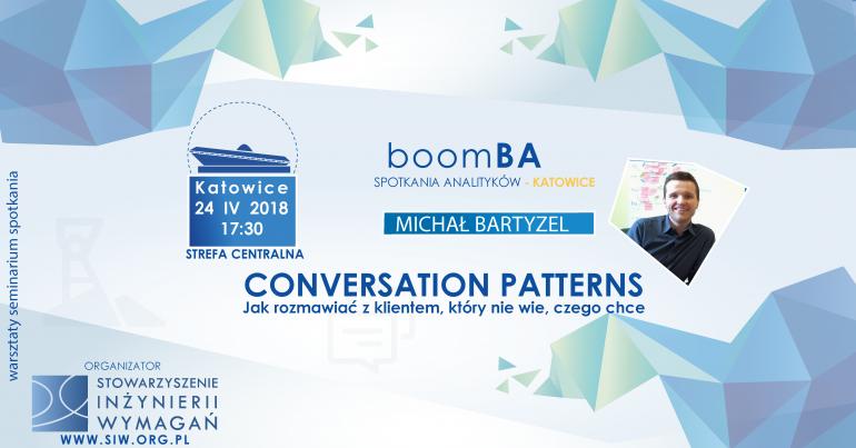 Conversation Patterns - Jak rozmawiać z klientem, który nie wie, czego chce